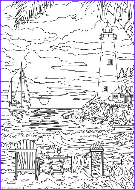 Lighthouse Coloring Pages Beautiful Stock Lighthouse Printable Adult Coloring Page From Favoreads