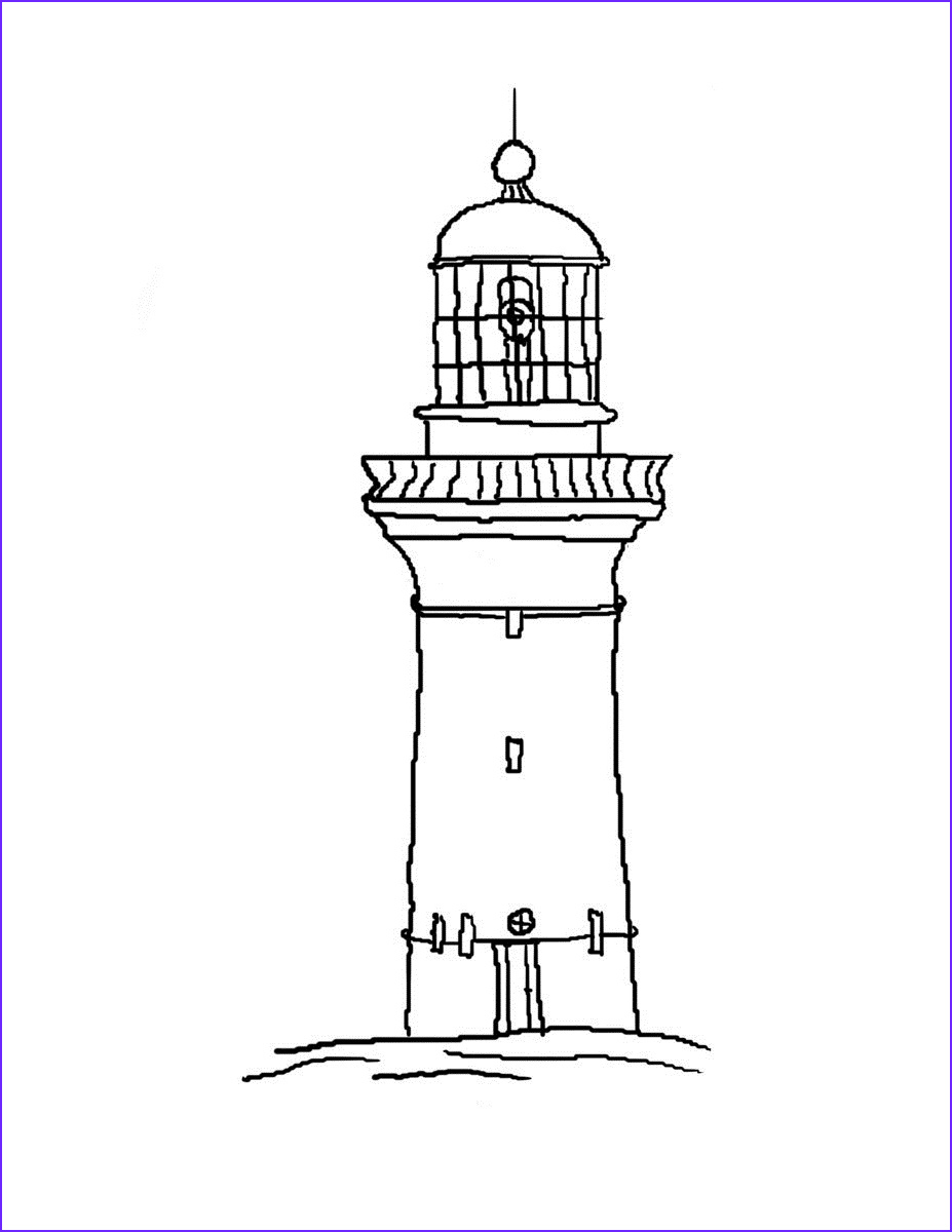 Lighthouse Coloring Pages Elegant Image Free Printable Lighthouse Coloring Pages for Kids