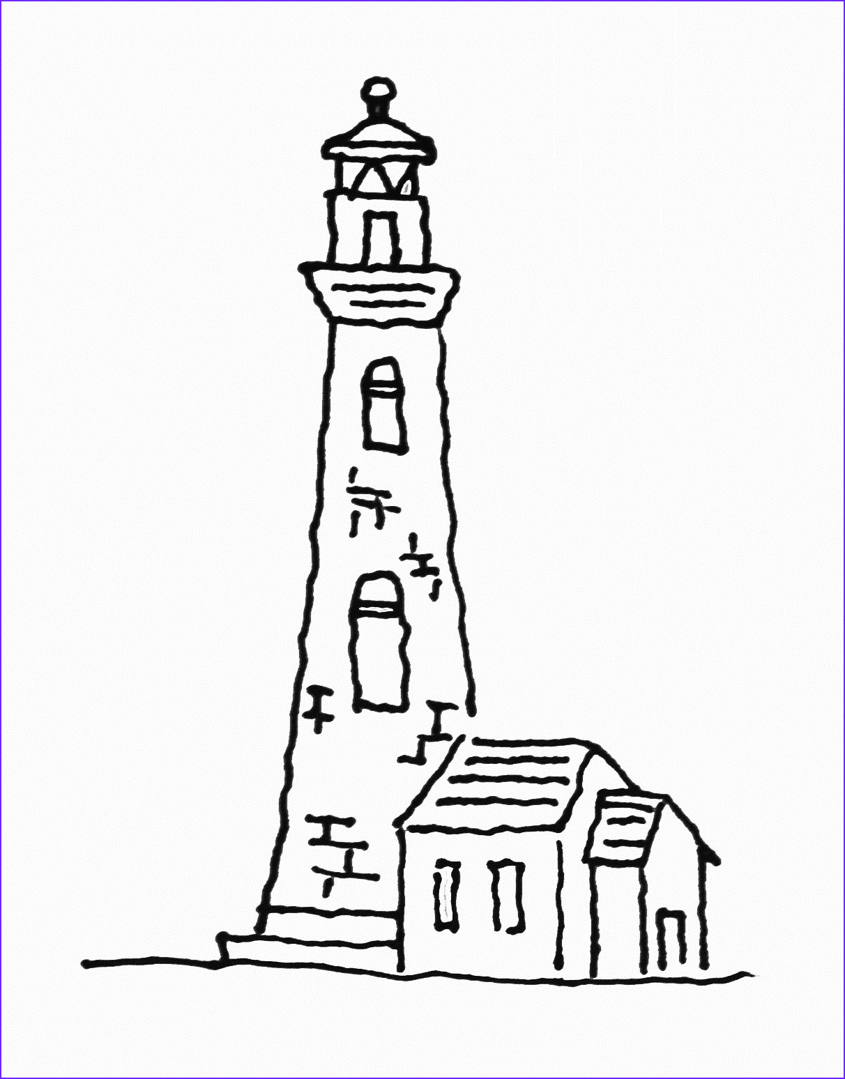 Lighthouse Coloring Pages Inspirational Collection Free Printable Lighthouse Coloring Pages for Kids