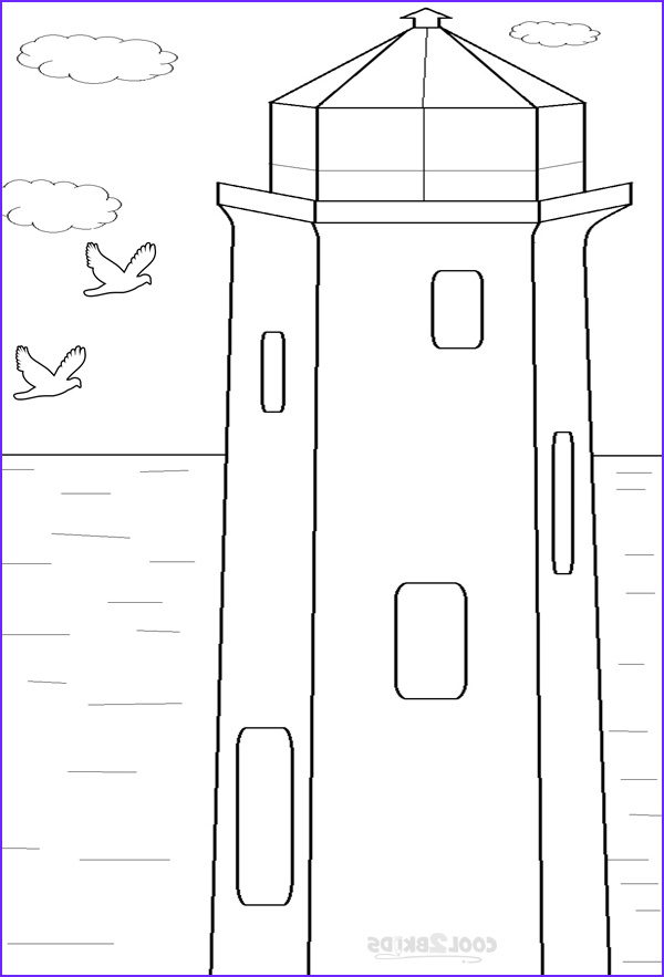 Lighthouse Coloring Pages Luxury Photos Printable Lighthouse Coloring Pages for Kids