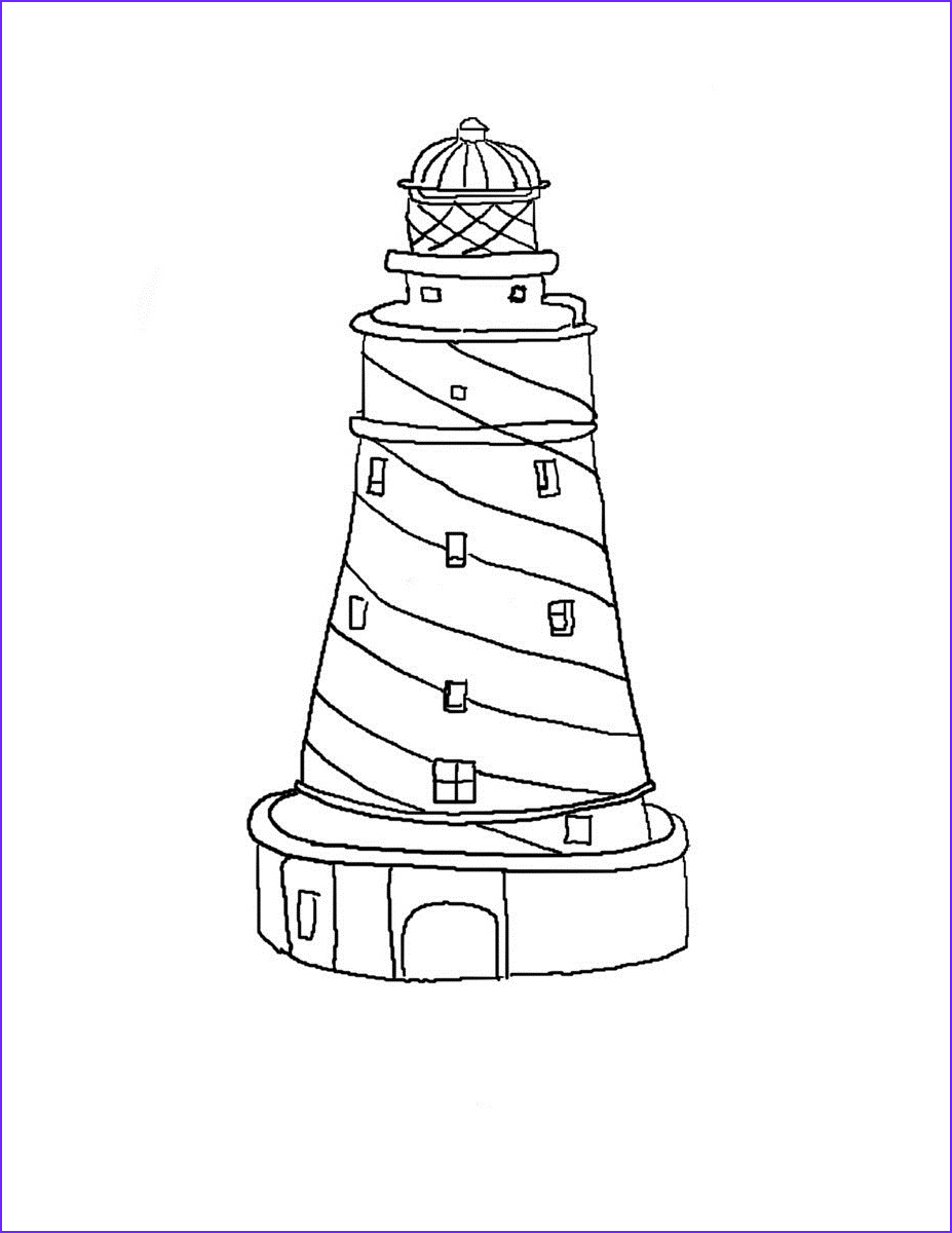 Lighthouse Coloring Pages New Photography Free Printable Lighthouse Coloring Pages for Kids