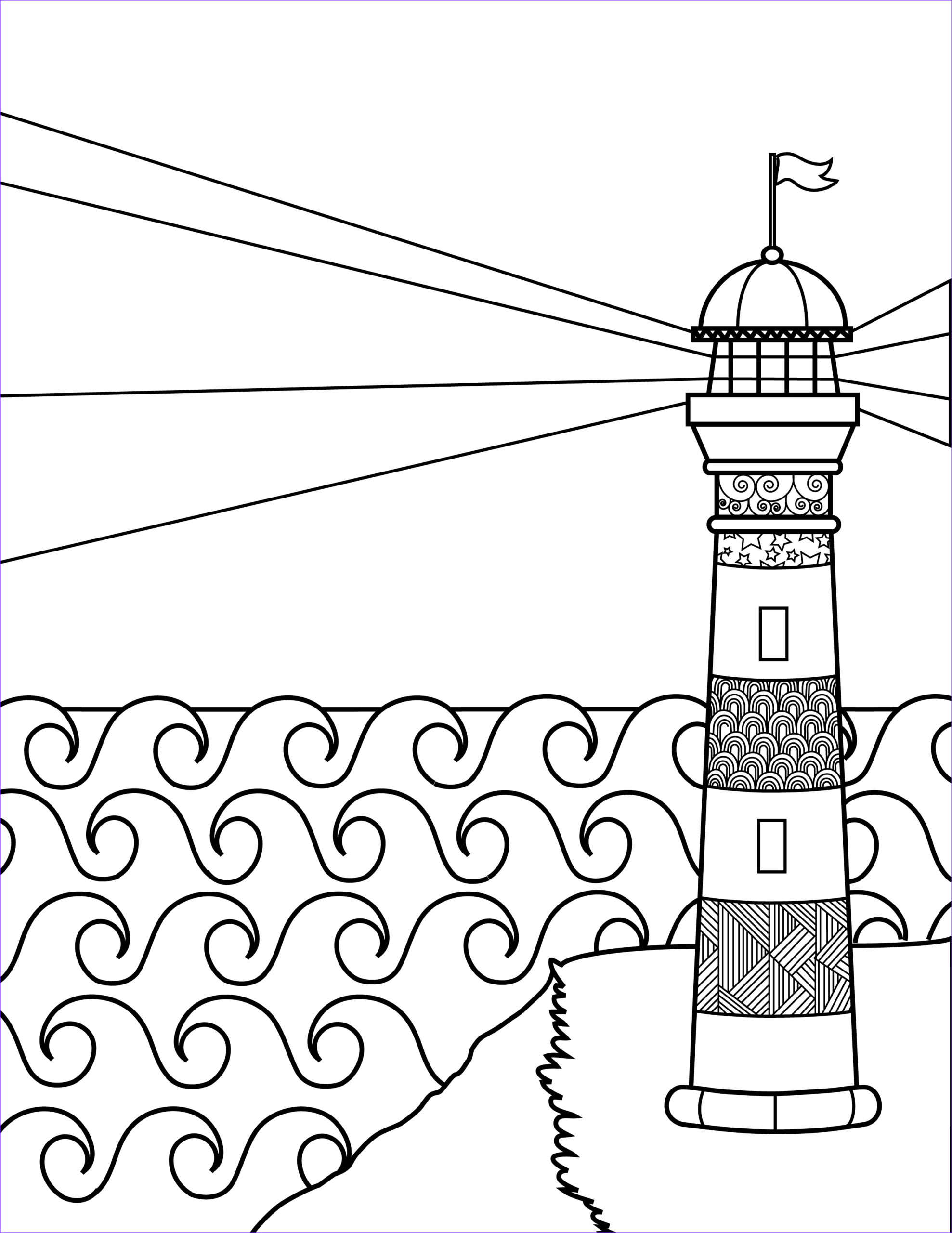 Lighthouse Coloring Pages New Stock Saam Trans Lighthouse Coloring Pages forge