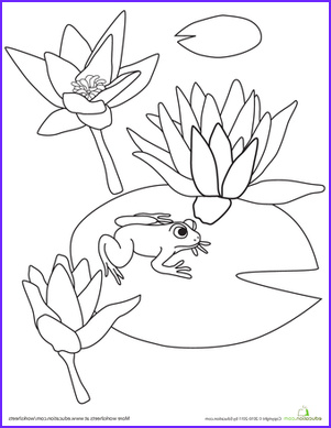 Lily Coloring Awesome Photos Frog Coloring Pages & Printables