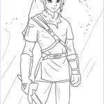Link Coloring Pages Awesome Image Link From Legend Of Zelda Coloring Page