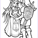 Link Coloring Pages Awesome Stock Link And Zelda By Hop41 On Deviantart