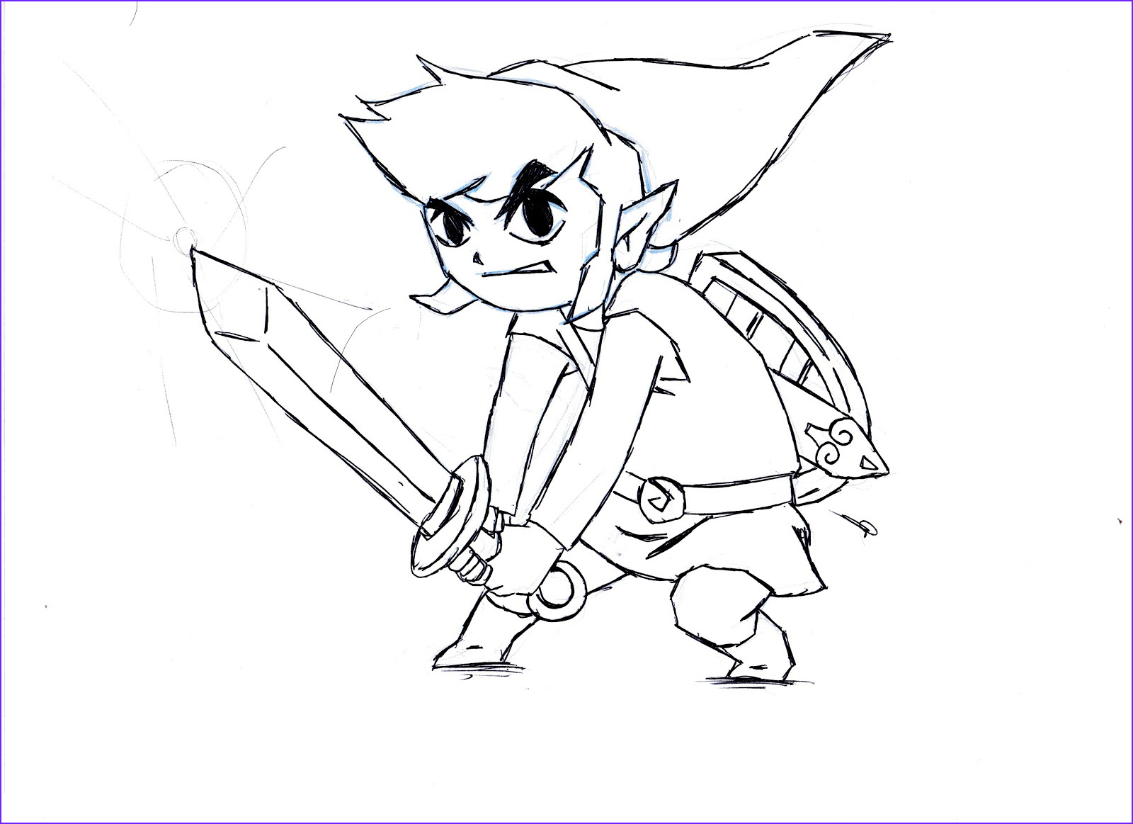 Link Coloring Pages Beautiful Collection Zelda Coloring Pages Bestofcoloring