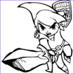 Link Coloring Pages Beautiful Stock Zelda Coloring Pages Lineart Zelda & Link