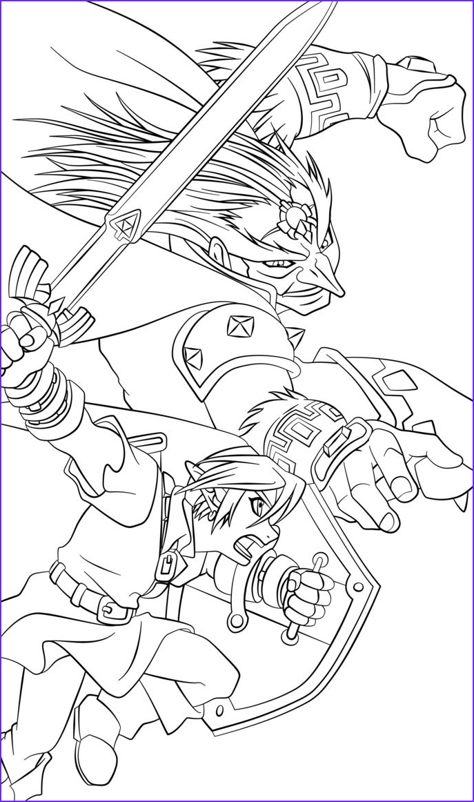 Link Coloring Pages Best Of Images 106 Best Images About Lineart Zelda & Link On Pinterest