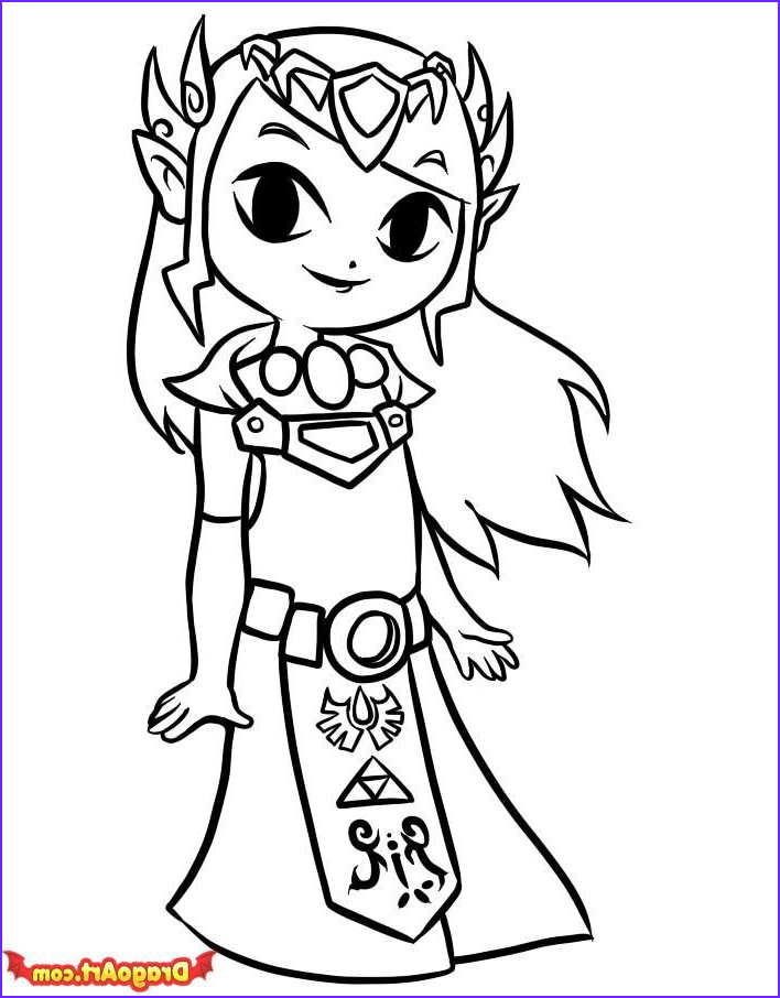 Link Coloring Pages Cool Photography 36 Best Images About Zelda Coloring Pages On Pinterest
