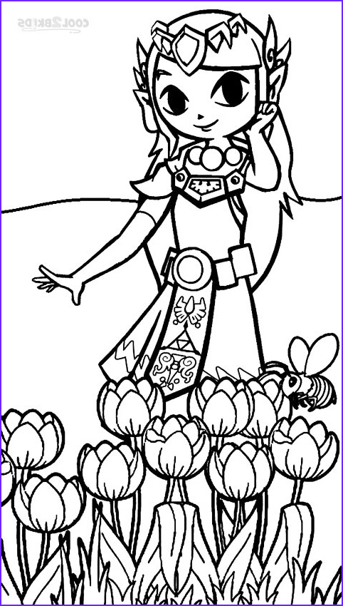 Link Coloring Pages Luxury Gallery Printable Zelda Coloring Pages for Kids