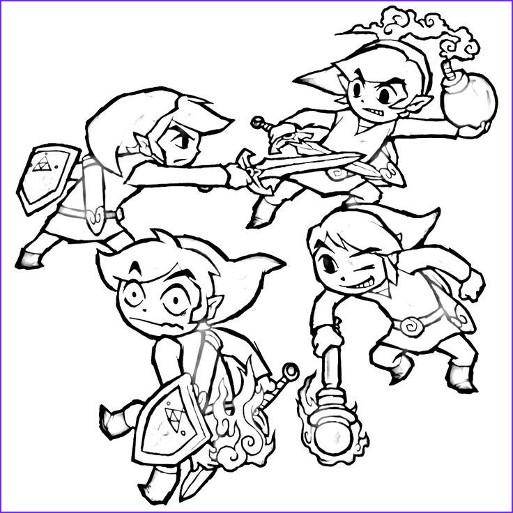 Link Coloring Pages Luxury Photos 106 Best Images About Lineart Zelda & Link On Pinterest