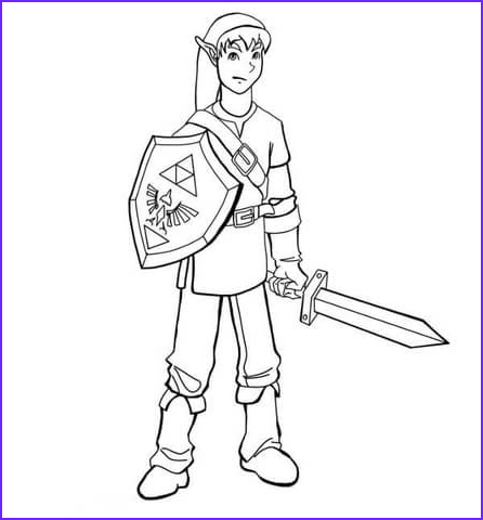 Link Coloring Pages New Gallery Link Coloring Page