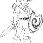 Link Coloring Pages New Gallery Zelda Ocarina Time Free Coloring Pages