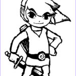 Link Coloring Pages New Photos Zelda Coloring Pages Lineart Zelda & Link