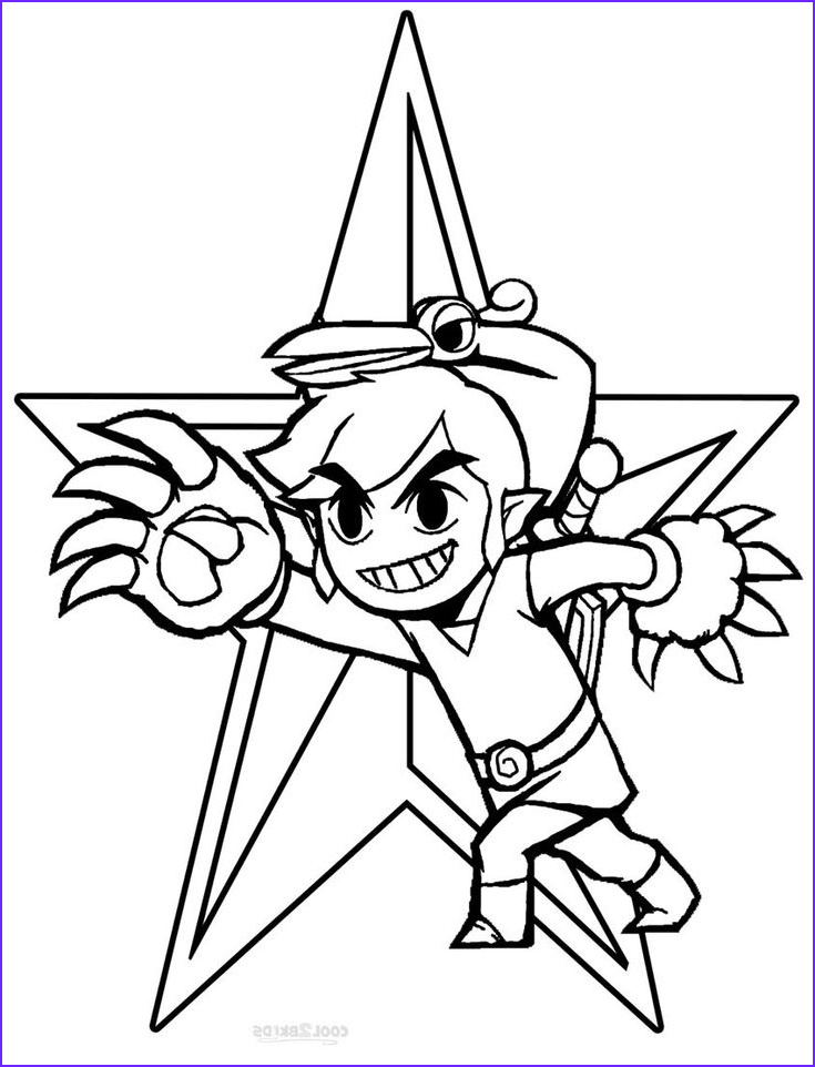 Link Coloring Pages Unique Photos 106 Best Images About Lineart Zelda & Link On Pinterest