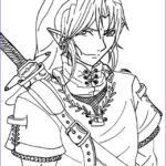 Link Coloring Pages Unique Stock Free Printable Zelda Coloring Pages For Kids