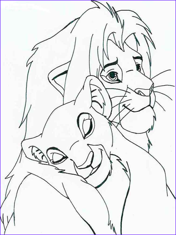 Lion Coloring Book Luxury Image the Lion King Coloring Pages Download and Print the Lion