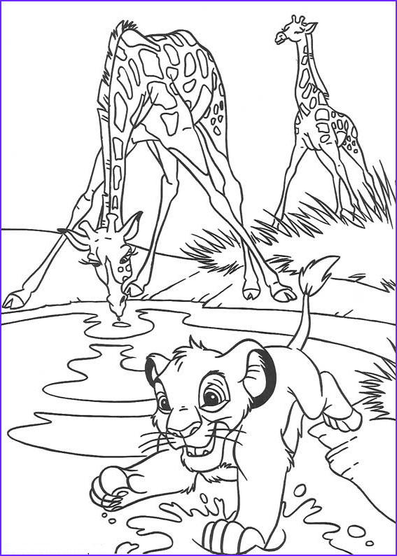 Lion Coloring Book New Collection Lion King Coloring Pages