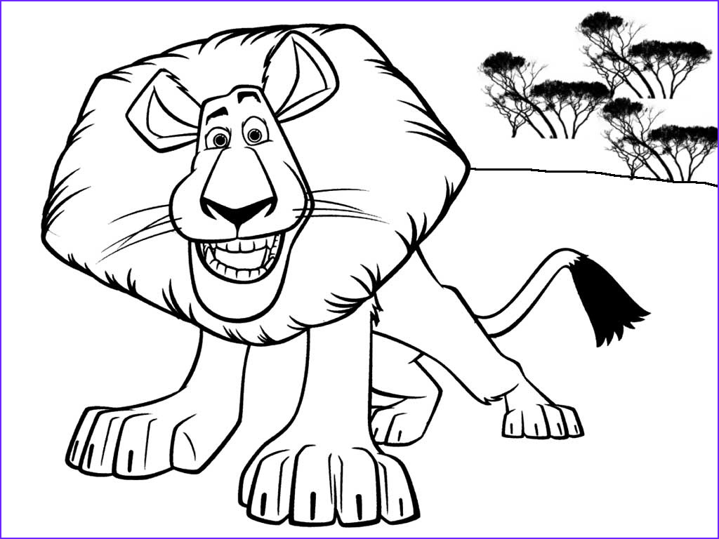 Lion Coloring Pages Best Of Gallery 764 Tigry I Lvy