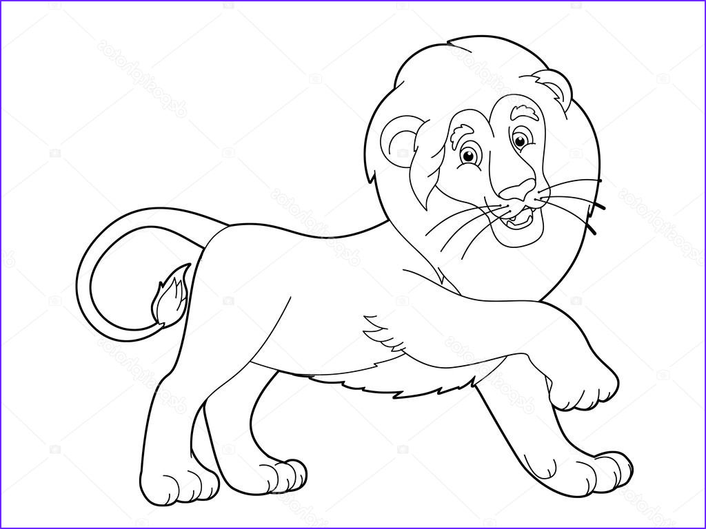 Lion Coloring Pages Best Of Photos Lion Stock Agaes8080
