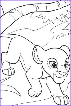 the lion guard colouring sheet 3