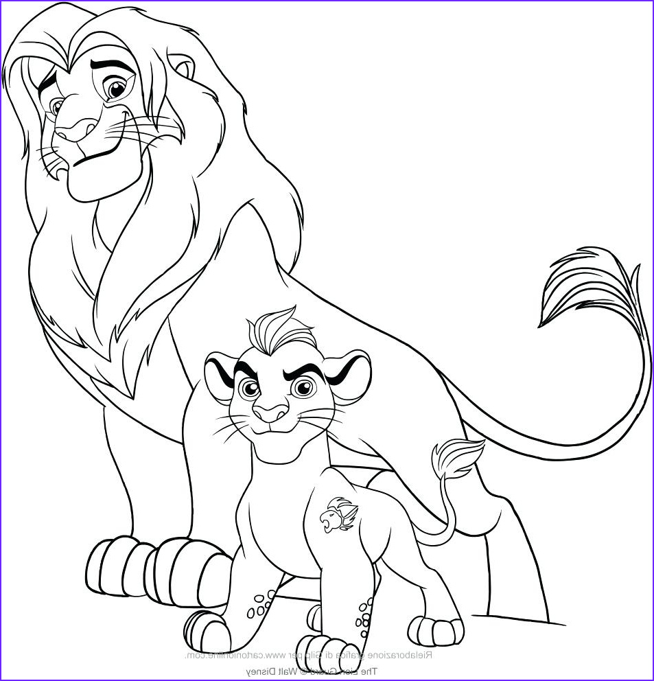 Lion Guard Coloring Page Cool Photos Lion Pride Drawing at Getdrawings