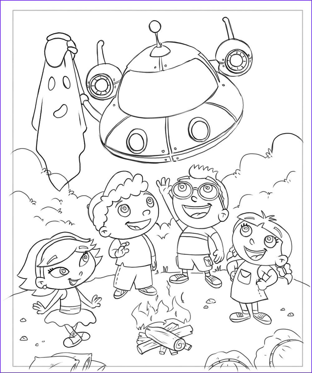 Little Einsteins Coloring Pages Best Of Image Little Einstein Coloring Page Boys