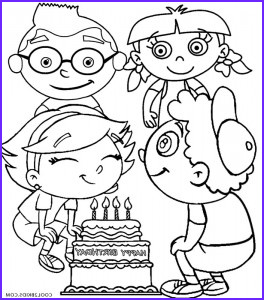 little einsteins coloring pages