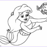 Little Mermaid Coloring Book Cool Gallery Printable Mermaid Coloring Pages For Kids