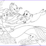 Little Mermaid Coloring Book Inspirational Gallery Ariel Coloring Pages Best Coloring Pages For Kids