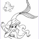 Little Mermaid Coloring Cool Photos Printable Mermaid Coloring Pages for Kids