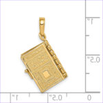 Lord's Prayer Coloring Page Beautiful Gallery 14k Yellow Gold Lord S Prayer Bible Die Struck Charm