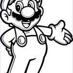 Luigi Coloring Pages Awesome Photos Super Mario Coloring Pages Wecoloringpage Pinterest