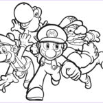 Luigi Coloring Pages Beautiful Collection Mario Coloring Pages To Print