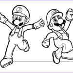 Luigi Coloring Pages Beautiful Photos Mario Coloring Pages Black And White Super Mario