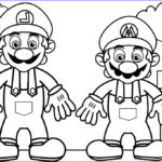 Luigi Coloring Pages Cool Photography Luigi Coloring Pages