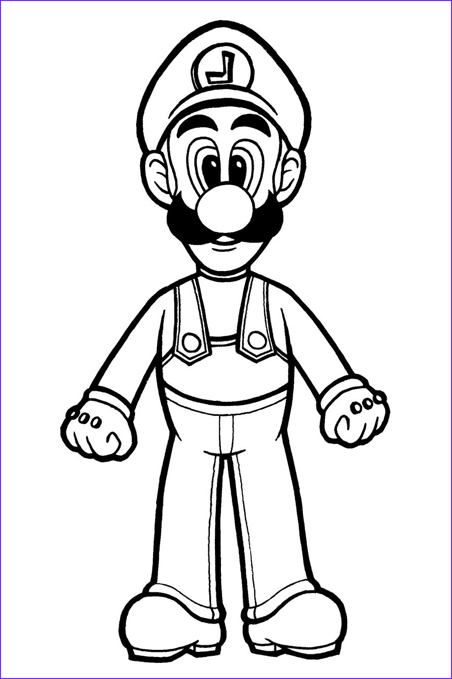 Luigi Coloring Pages Elegant Photos Free Printable Luigi Coloring Pages for Kids