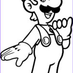 Luigi Coloring Pages Inspirational Images Picture Luigi Coloring Pages Download & Print Line
