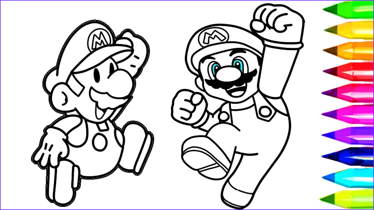 Luigi Coloring Pages Luxury Photography Super Mario Coloring Pages Nintendo Super Mario Coloring