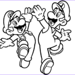 Mairo Coloring Pages New Gallery Luigi And Mario Coloring Page