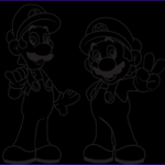 Mairo Coloring Pages New Photos Mario Brothers Coloring Pages Coloring Pages