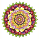 Mandala Coloring Books Beautiful Collection This Mandala Coloring Book For Grown Ups Is The Creative S