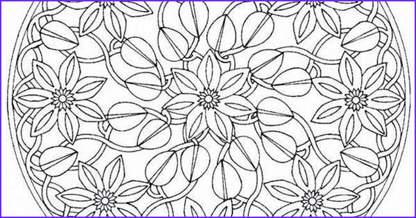 Mandala Coloring Pages Advanced Level Awesome Gallery Mandala Coloring Pages Advanced Level