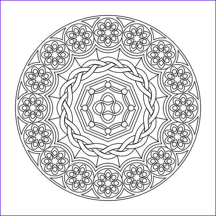 Mandala Coloring Pages Advanced Level Best Of Collection Mandala Coloring Pages Advanced Level Printable Coloring