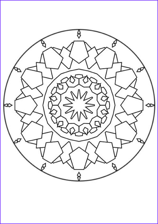 Mandala Coloring Pages Advanced Level Best Of Photos Advanced Mandala Coloring Pages the Difficult Level