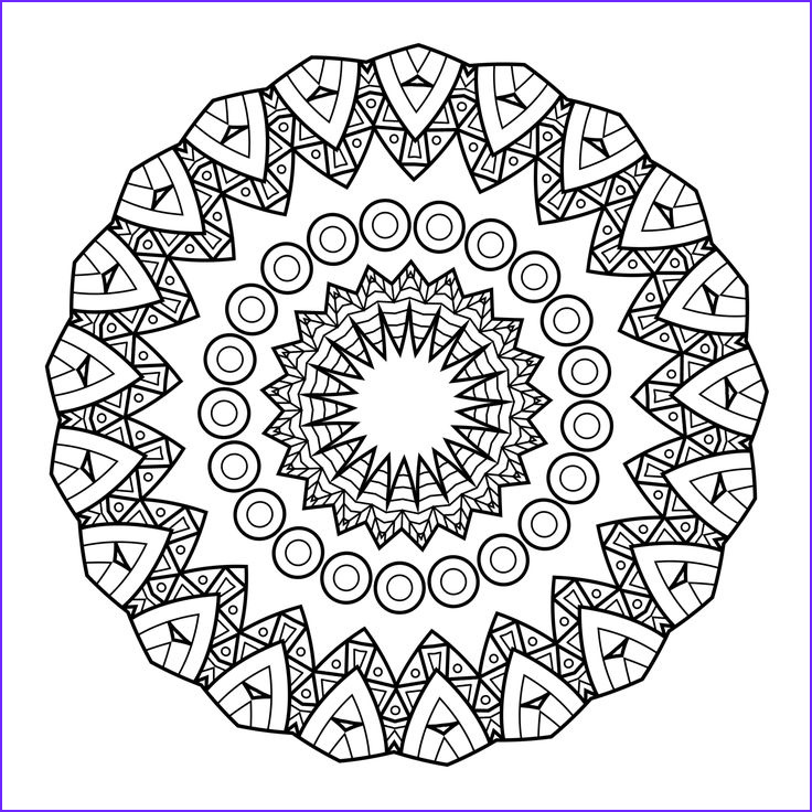 Mandala Coloring Pages Free Printable Awesome Photography 5 Free Printable Coloring Pages Mandala Templates