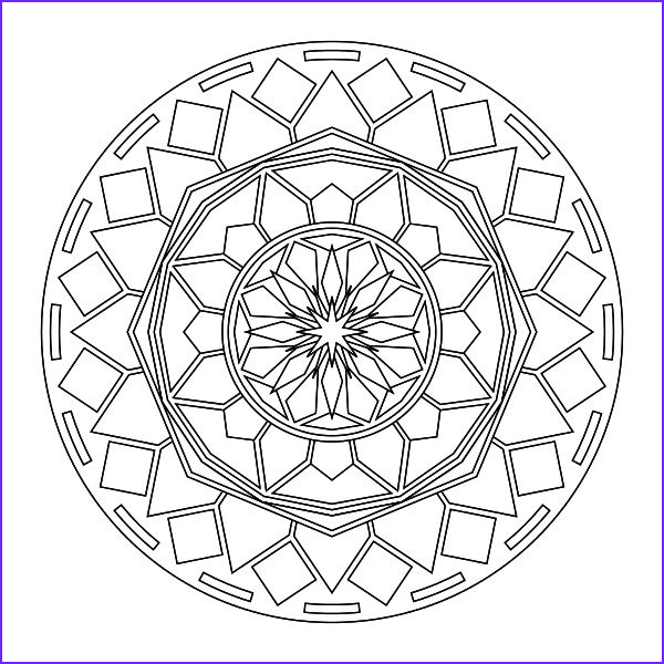 Mandala Coloring Pages Free Printable Best Of Image tons Of Printable Mandala Designs Free for Print