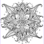 Mandala Flower Coloring Pages Awesome Photos I Create Coloring Mandalas And Give Them Away For Free