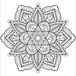 Mandala Flower Coloring Pages Beautiful Image Flower Mandala Coloring Pages Best Coloring Pages For Kids
