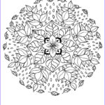 Mandala Flower Coloring Pages Beautiful Photos Flower Elf Mandala Coloring Pages Hellokids